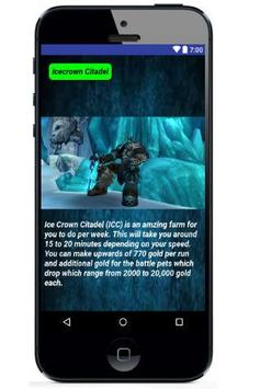 Dalagg Guide's For WoW apk screenshot