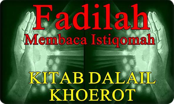 Fadilah Kitab Dalailul Khoerot. Amalan Para Ulama poster