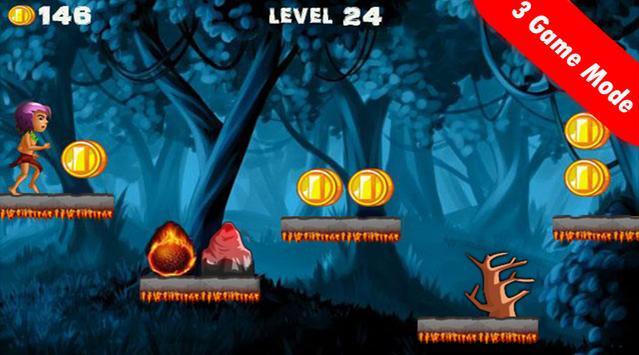 Castle Jungle Run V3 screenshot 1