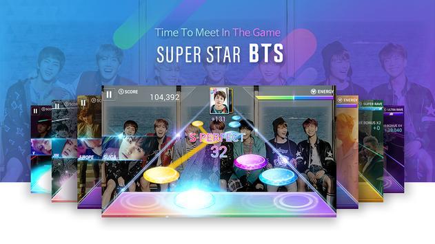 Cartel SuperStar BTS