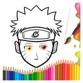 How to Color Naruto icon