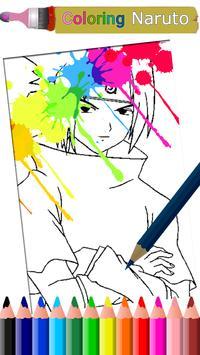 How to Color Naruto screenshot 1