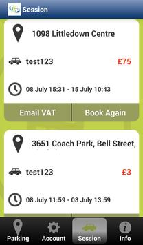 Phone and Pay Parking screenshot 2
