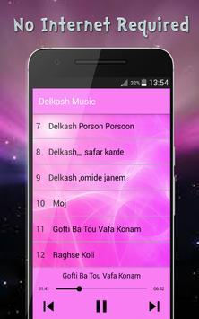 Delkash Songs - دلكش بدون اينترنت screenshot 1