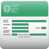 Fiscal Code icon