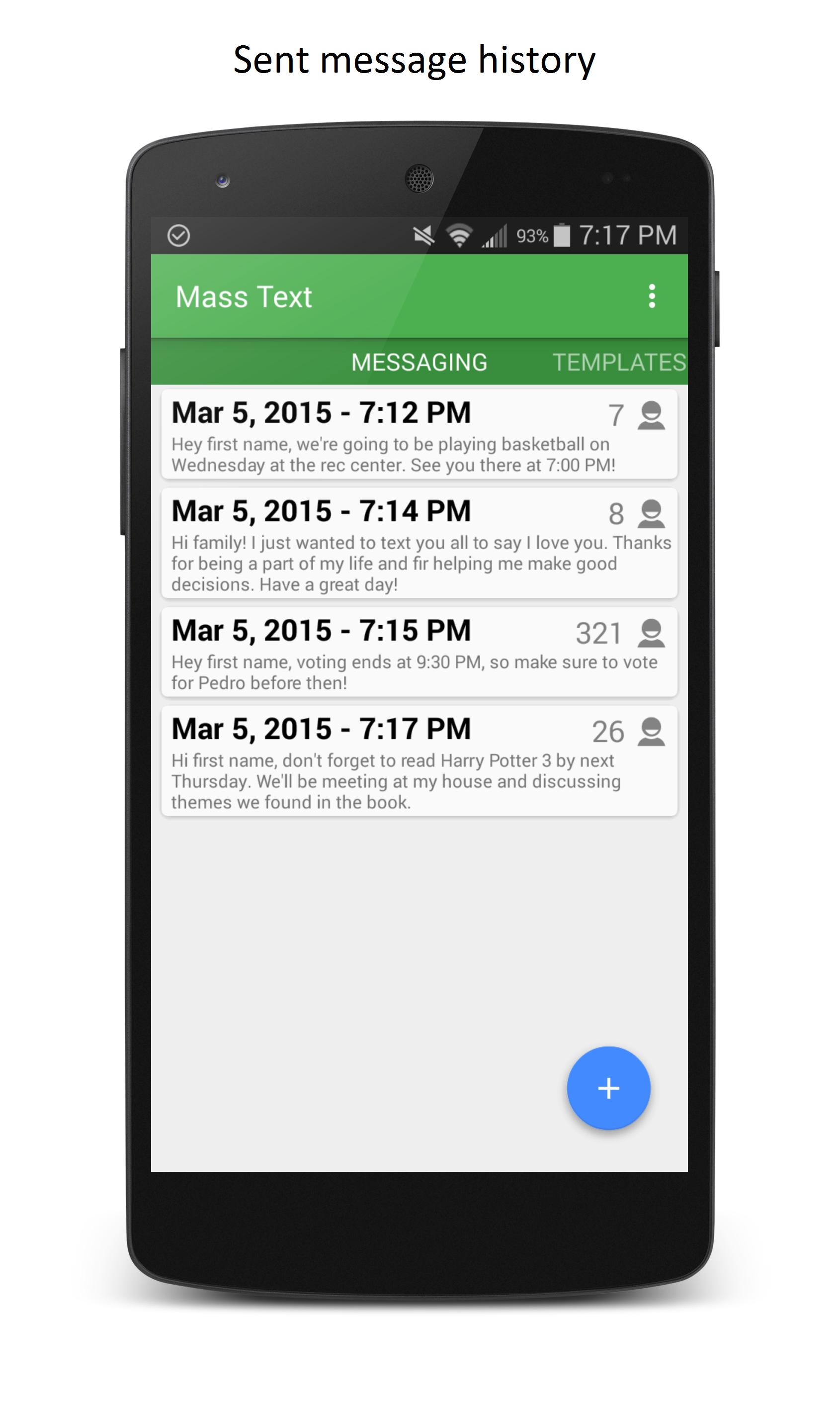 Mass Text for Android - APK Download
