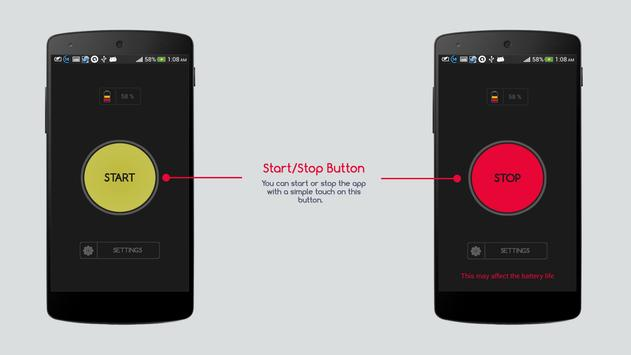 Flash Alert On Call And Text apk screenshot