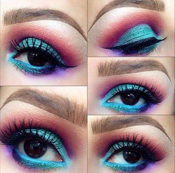 Panduan Makeup Mata yang Cantik poster