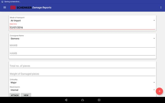 DBS Cargo Condition Reports apk screenshot