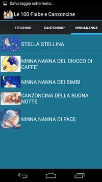 Le 100 Fiabe e Canzoncine screenshot 1