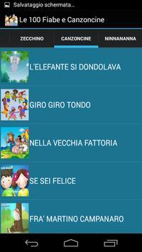 Le 100 Fiabe e Canzoncine screenshot 3