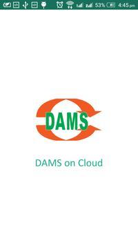 DAMS Cloud poster