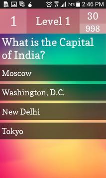 Country Capitals Quiz apk screenshot