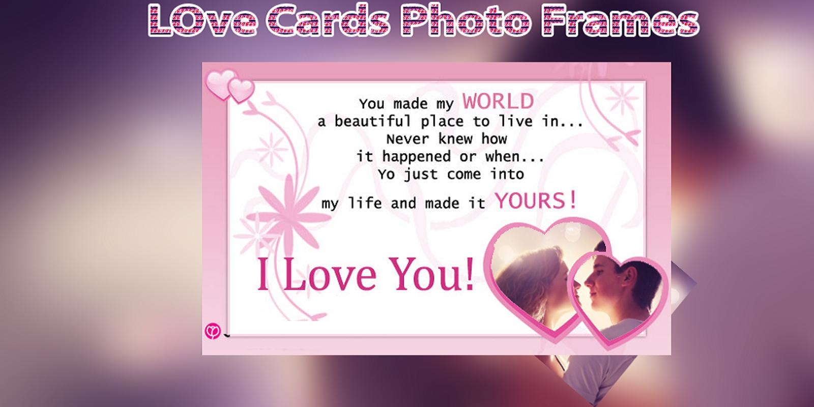 Love Card photo frame APK Download - Free Photography APP for ...