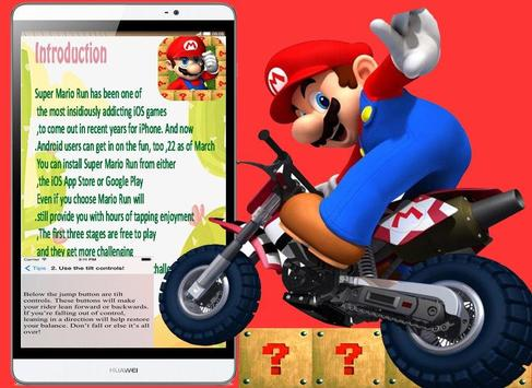 Guide for Mario Run apk screenshot