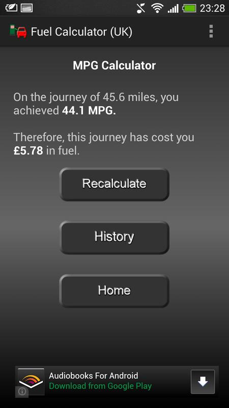 Uk mpg fuel calculator android apps on google play.