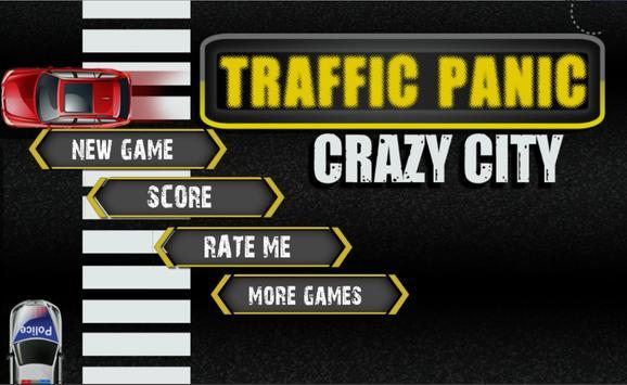 Traffic Panic Crazy City poster