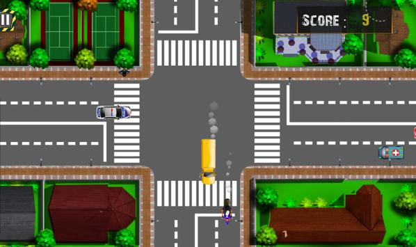 Traffic Panic Crazy City screenshot 1