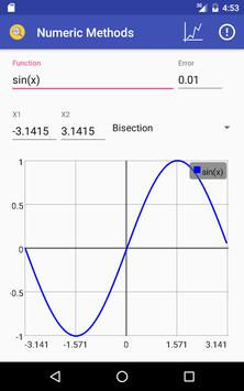 Numeric Methods apk screenshot