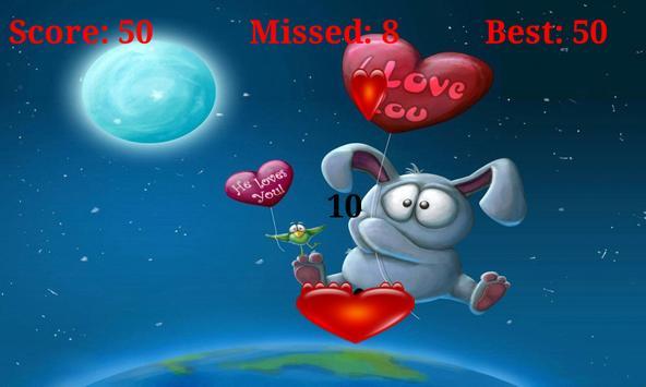 Catch love. Collecting Hearts apk screenshot