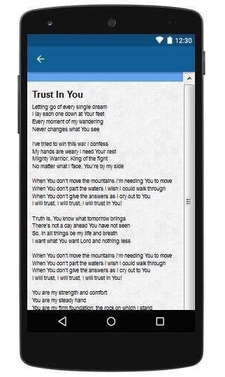 lauren daigle trust in you lyrics