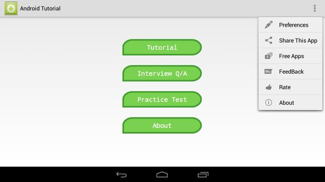TUTORIAL FOR ANDROID screenshot 14