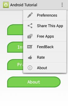 TUTORIAL FOR ANDROID screenshot 7