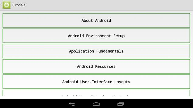 TUTORIAL FOR ANDROID screenshot 9
