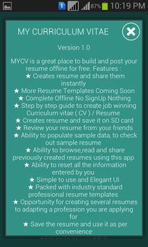 mycv resume maker free apk download free education app for