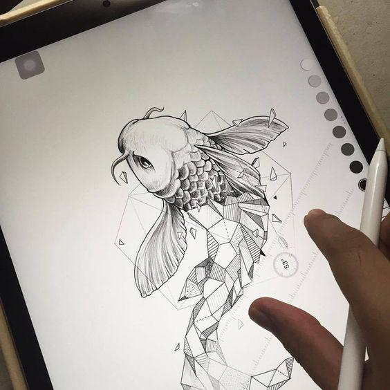 Draw Tattoos poster