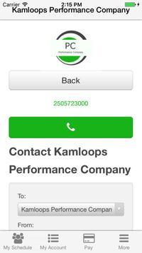 Kamloops Performance Company screenshot 2