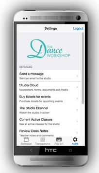 The Dance Workshop apk screenshot