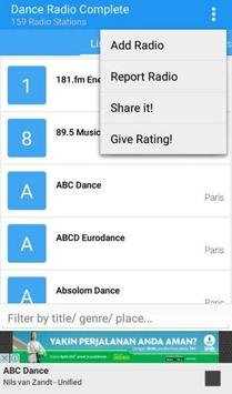 Dance Radio Complete apk screenshot