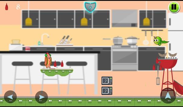 Dancing Hot Dog Adventures apk screenshot