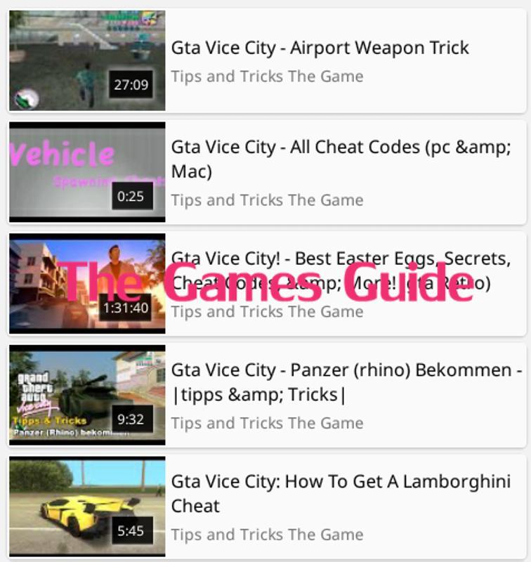 gta vice city secrets download