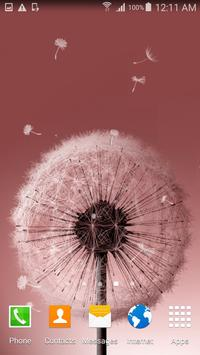 Dandelion Live Wallpaper screenshot 3
