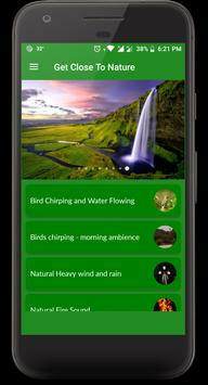 Nature Love Sounds and WallPapers screenshot 1