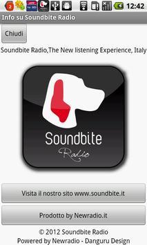 Soundbite Radio screenshot 1