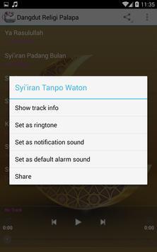 Dangdut Religi Palapa MP3 apk screenshot