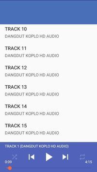 DANGDUT KOPLO HD AUDIO MP3 poster