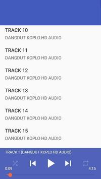 DANGDUT KOPLO HD AUDIO MP3 apk screenshot
