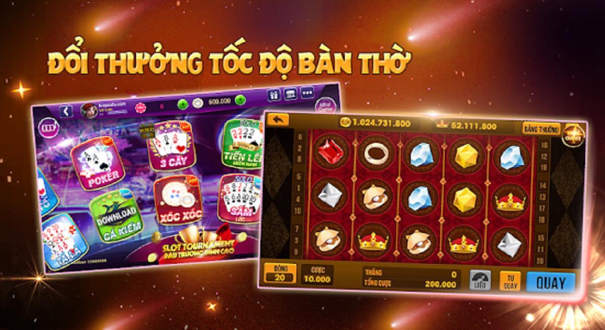 Image result for game đánh bài đổi thưởng