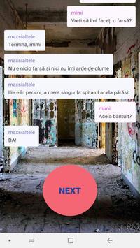 Povesti cu Youtuberi - Chat Stories RO screenshot 4