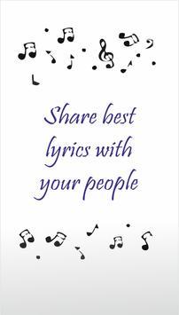 Songs & Lyrics apk screenshot