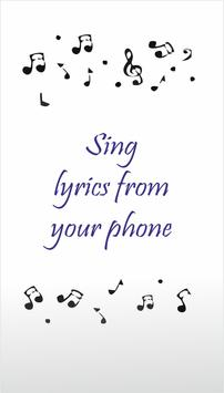 Songs & Lyrics apk screenshot