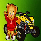 Daniel the tiger Race game Neighborhood icon