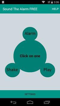 Sound The Alarm - Anti Theft poster