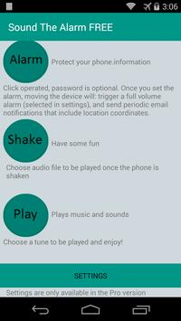 Sound The Alarm - Anti Theft apk screenshot