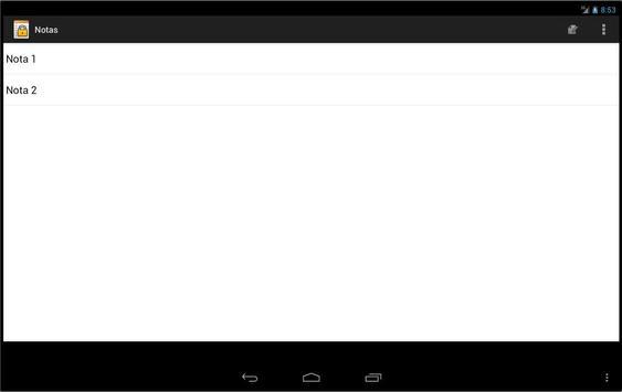 Notas Seguras apk screenshot