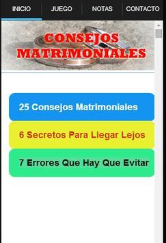 Consejos Matrimoniales poster